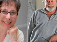 Poetry & Conversation: Grace Cavalieri & Richard Harteis