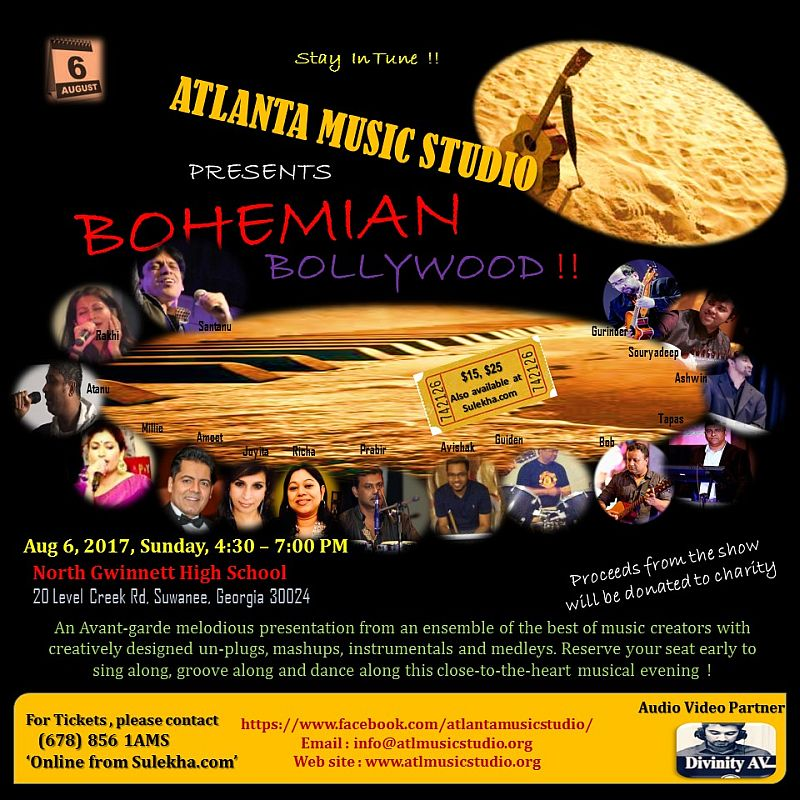 Bohemian Bollywood - Explore Gwinnett Events