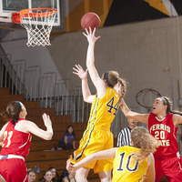 (Women's Basketball) Michigan Tech at Northwood