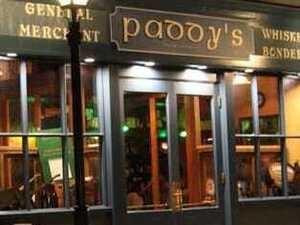 Live Music at Paddy's Irish Pub