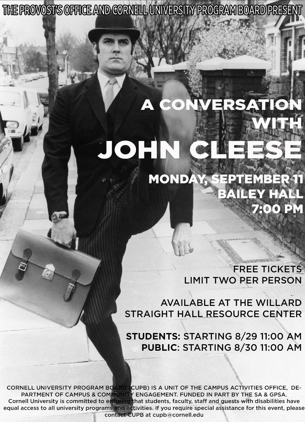 A Conversation with John Cleese
