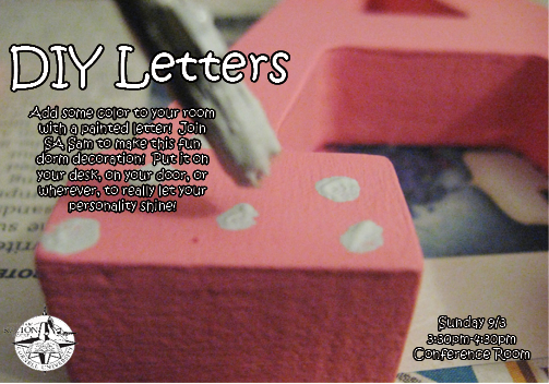 Diy Wooden Letters Cornell