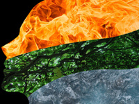The Five Elements: Earth, Metal, Water, Wood, Fire