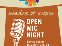 Shades of Brown: Open Mic Night