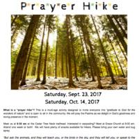 Prayer Hike
