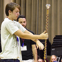 Pass & Review:  Marching Band Leadership and Color Guard Camp