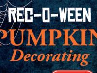 Rec-O-Ween Pumpkin Decorating