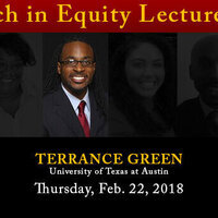 Research in Equity Lecture Series: Terrance L. Green