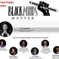 Public Course: Black Minds Matter (A Focus on Black Boys and Men in Education)