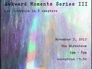 """Awkward Moments"" Multimedia Installation"
