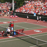University of Georgia Men's Tennis vs Arkansas 15K
