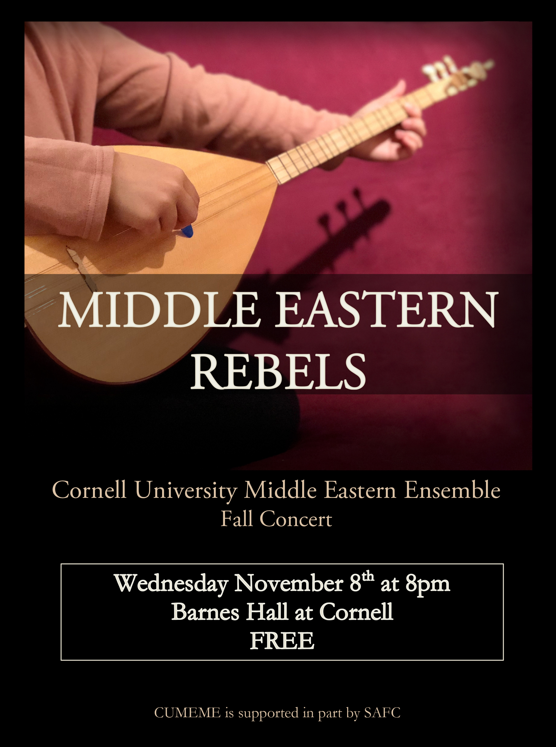 Middle Eastern Music Concert - Cornell