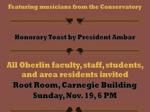 Oberlin Thanksgiving Potluck Feast and Multifaith Gathering
