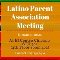 Latino Parent Association Meeting
