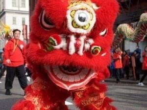 Lunar New Year Dragon Dance Parade
