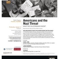 Ninth Annual Linda and Tony Rubin Lecture–Americans and the Nazi Threat: What Did Californians Know? (USC Casden Institute)