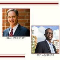 Dean Jack Knott in Conversation with Raphael Bostic
