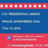 USG Presidential Debate