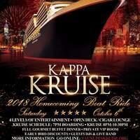 Kappa Alpha Psi Fraternity Inc. Boat Ride