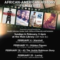 AFRICAN-AMERICAN HISTORY  FILM SERIES