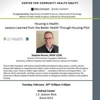 Housing is Health: Lessons Learned from the Better Health Through Housing Pilot