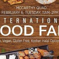 ISA Presents: Intl. Food Fair 2018