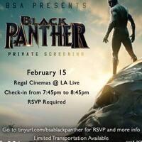 BHM: Black Panther Screening