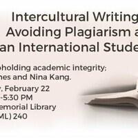 Intercultural Writing: Avoiding Plagiarism as an International Student