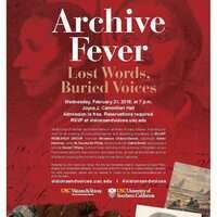 Archive Fever: Lost Words, Buried Voices