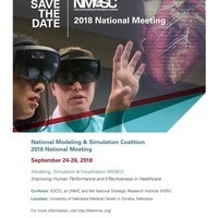 National Modeling & Simulation Coalition 2018 National Meeting - September 24-26, 2018