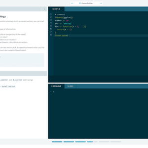 DataCamp: An Interactive Way for You to Learn, Apply, and