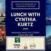 Lunch with Cynthia Kurtz