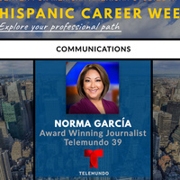 Hispanic Career Week: Norma García, Award Winning Journalist Telemundo