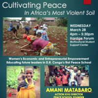 Cultivating Peace In Africa's Most Violent Soil