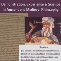 Demonstration, Experience and Science in Ancient and Medieval Philosophy
