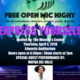 """FREE Open Mic Night - """"Express Yourself"""""""