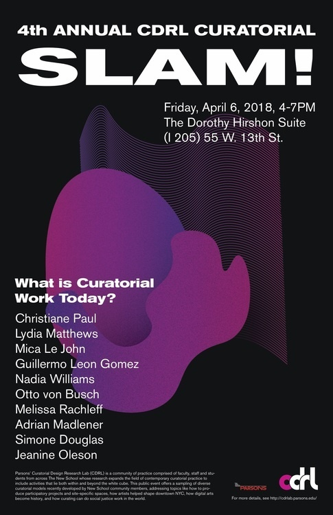 CDRL Curatorial Slam!: What is Curatorial Work Today?