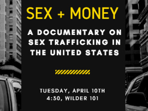 "Screening of "" Sex + Money: A National Search for Human Worth​"""