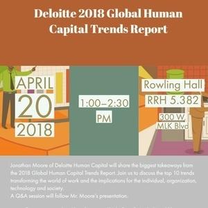 2018 Deloitte Global Human Capital Report - Texas Today: UT