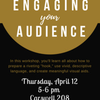 Wake Speaks Workshop: Engaging Your Audience