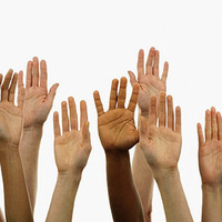 hands up volunteer get involved questions
