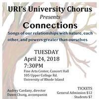 Connections: University Chorus, Audrey Cardany, director
