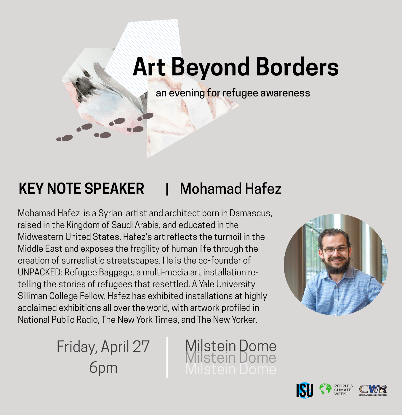 A Talk with Mohamad Hafez