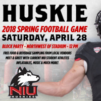 Communiversity Block Party and Huskie Bowl