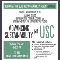 USC Sustainability Forum