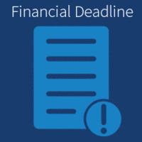 Last Day to use the Financial Aid Book Account