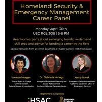 HSSO Career Panel & Networking Night