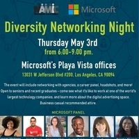 Microsoft Diversity Networking Night