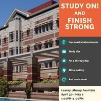 Study On! and Finish Strong