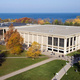 Aerial of Penfield Library